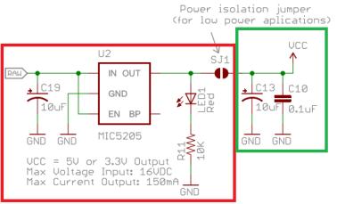 atmega schematic pro mini arduino 3V