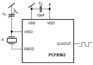 pcf8563 set up