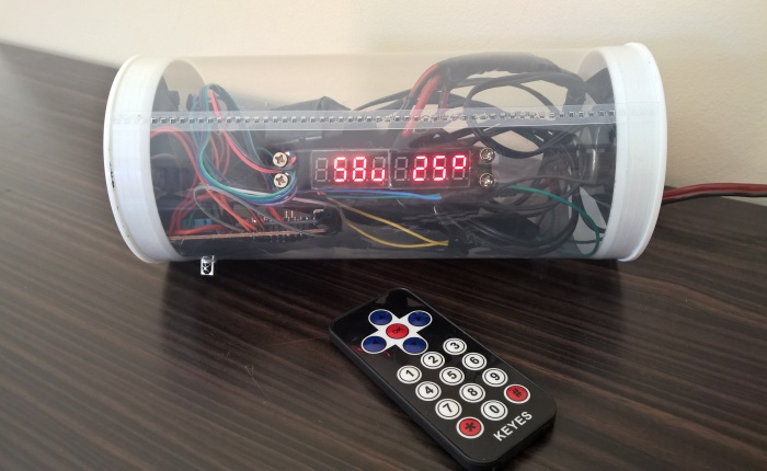 How To Make An Alarm Clock With Infrared And BluetoothSpeakers